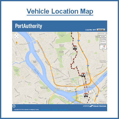 Port Authority of Allegheny County | TrueTime℠